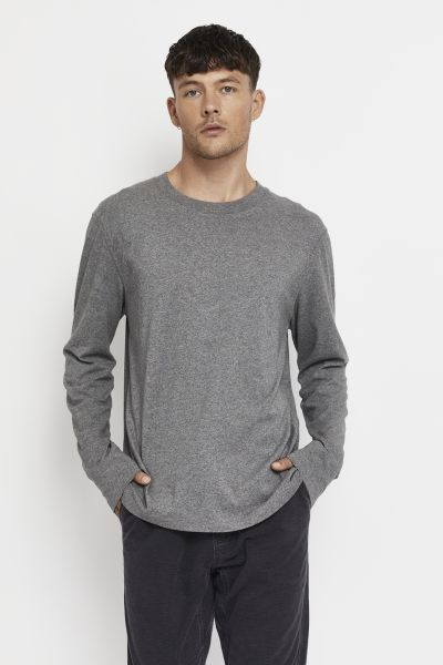 Bonds Outlet Essentials Long Sleeve Tee Charcoal