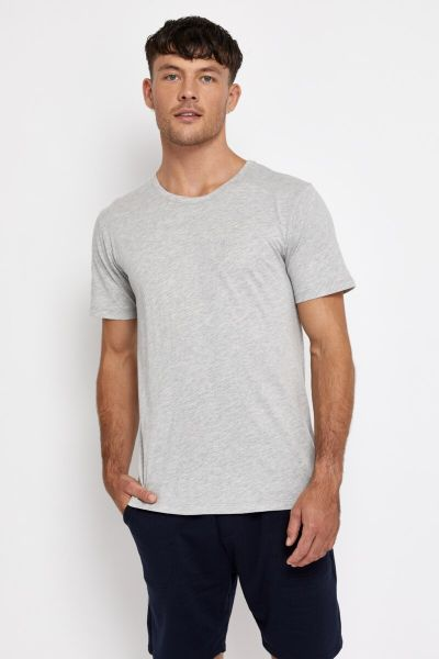 Bonds Outlet Core Crew Tee New Grey Marle
