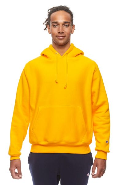 Bonds Outlet Reverse Weave Hoodie C Gold