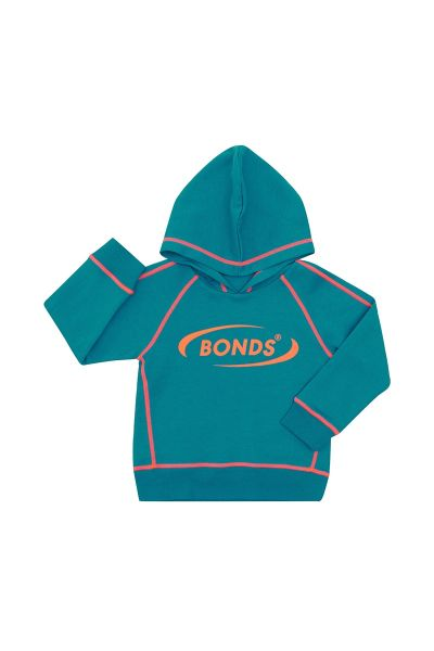 Bonds Outlet Cool Sweat Hoodie New Grey Marle
