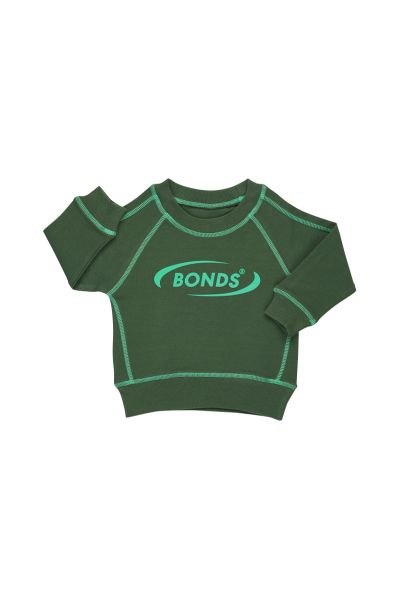 Bonds Outlet Cool Sweat Pullover Blade Green