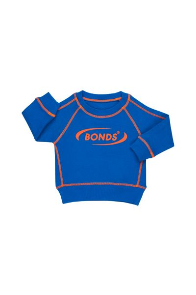 Bonds Outlet Cool Sweat Pullover Blue Tang
