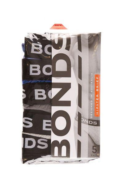 Bonds 5 Pack Hipster Brief